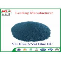 Wholesale Professional C I Vat Blue 6 Blue BC Blue Vat Dye 100% Purity ISO Approve from china suppliers