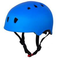 Wholesale Matt Sky Blue Rollerblade Helmet , Roller Skating Helmet For Kids G1321 Model from china suppliers