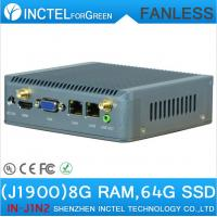 Wholesale J1900 Mini PC Nano Computer ITX support Wake on LAN PXE Watchdog 3G GPIO 8G RAM 64G SSD from china suppliers