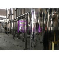 Quality UV Sterilizer Mineral Filtration Water treatment System With Stainless Steel Water storage tanks for sale
