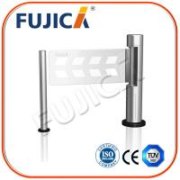 Wholesale 50 W Outdoor Slim Supermarket Swing Gate With Finger Printer from china suppliers