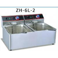 Wholesale Oil Outlet Large Electric Deep Fryer Machine , Stainless Steel Deep Fat Fryer from china suppliers