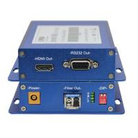 Wholesale HDMI 1.3b Audio Fiber Optic Video Transmitter Single Mode / Multimode 1 Channel from china suppliers