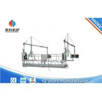 Wholesale 2 Sections 5m Window Cleaning Platform ZLP500 With 8.3 mm Steel Wire Rope from china suppliers