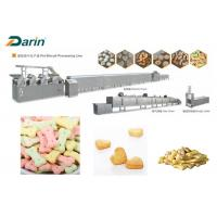 Wholesale DR -280 Stainless Steel Colored Dog Biscuit Making Machine With Stable Performance from china suppliers