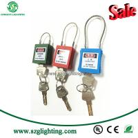 Buy cheap ZC-G31 Hight Quality Steel Cable Shackle Safety Padlocks from wholesalers