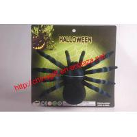 Wholesale Halloween flocking spiders from china suppliers