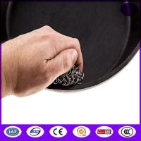 Wholesale Metal Ring chainmail scrubber for pan cleaning  from china supplier from china suppliers