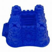 Wholesale Silicone Bake Ware/Cake Mould of Princess Castle, Measuring 26 x 14cm from china suppliers