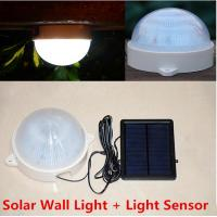 Wholesale 5LED solar power Light wall lamp corridor courtyard Garage Outdoor Path Wall Emergency Lamp Security Spotlight from china suppliers
