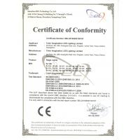 Guangzhou Color Imagination LED Lighting Limited Certifications