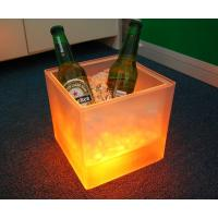 Wholesale Hot Promotional Plastic led ice bucket with Double layer from china suppliers