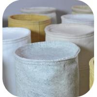 Wholesale Chemcial Plant Polyester Anti-Static Filter Material / Felt Filter Cloth Anti-Acid & Alkali And Long Life from china suppliers