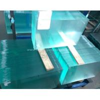 Wholesale Curve  10MM  Durable Csi Custom Tempered Safety Glass Low Visible Distortion from china suppliers