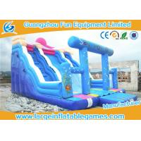 Wholesale Character Commercial Inflatable Slide With Inflatable Arch For Party And Events from china suppliers