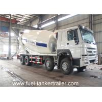 Wholesale Two axles concrete mixer cement tanker truck with 9 cbm mixing capacity from china suppliers