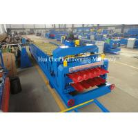 Wholesale 7.5Kw Hydraulic Power Tile and Roof Double Layer Cold Roll Forming Machine with CE from china suppliers