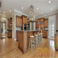 Quality Factory Price Morden MDF Kitchen Cabinet Wood Grain Cabinet for sale