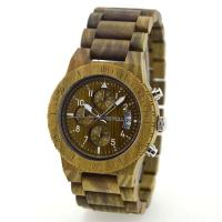 Wholesale Natural Bamboo Watch Wrist Quartz Bewell Wood Watch For Men from china suppliers