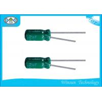 Wholesale 4.7uF / 50V Capacitor Green For Led Power , GF Series Low Voltage Capacitor from china suppliers