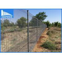 Wholesale ClearVu 358 Steel Panel Fence Anti Climb Fence With 4mm Vertical Wire from china suppliers