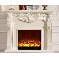 Wholesale European 1.2m Imitation Marble Fireplace Free Standing Electric Fireplaces from china suppliers