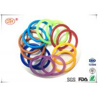 Wholesale AS568 Waterproof NBR O Ring Rubber , Colored Orings Excellent Air Tightness from china suppliers