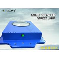 Buy cheap Time Control 6W Smart Solar LED Street Light 600-700LM With Infrared Motion Sensor from wholesalers