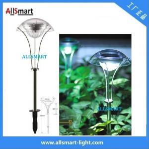 Wholesale RGB Stainless Steel Solar Spike Pathway Light Solar Stake Light Solar Mushroom Lights Solar Umbrella Lamp For Garden from china suppliers