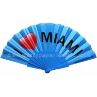 Buy cheap Promotion , Gift , Premium Personalised Hand Held Fan / Souvenir Hand Fan from wholesalers