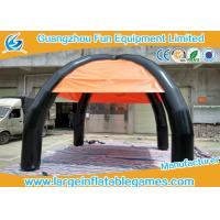 Wholesale Outside Commercial Dome Inflatable Sunshade Tent With 4 Legs , Customized Design from china suppliers