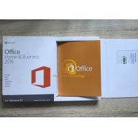 Wholesale Microsoft Office 2016 Home and Business For Windows PKC Version Retail Box DVD Media from china suppliers