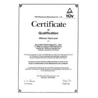 WuXi NewTrade Building Machinery Co.,Ltd Certifications