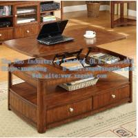 Wholesale Wooden living room furniture, wooden coffee table, wood lift coffee table from china suppliers