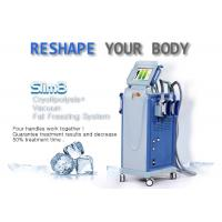 Buy cheap Powerful Multifunctional Cryolipolysis Machine Cellulite Reduction Machine With 4 Handpieces from wholesalers