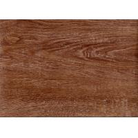 Quality Home / Office / Hotel PVC Vinyl Flooring Dry Back 7.25 Inch X 36 Inch Non Toxic for sale