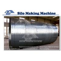 Wholesale Cold Roll Former Machine machine For 2.0mm - 6.0mm Carbon Steel Grain Bin from china suppliers