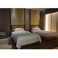 Wholesale Walnut Finished Hotel Guest Room Furniture With Stainless Steel Frame from china suppliers