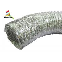 Quality HVAC Air refresh fire resistant customized sizes aluminum foil flexible duct , pipe 120mm  150mm for sale