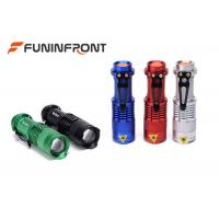 Wholesale CREE XPE Q5 Zoomable MINI LED Flashlight with 3 Light Modes, Pocket LED Torch from china suppliers