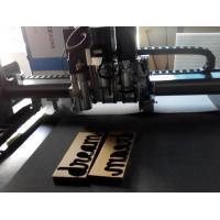 Buy cheap corrugated board making production cnc cutter machine from wholesalers