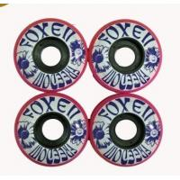 Wholesale Small  Polyurethane Skateboard Wheels And Bearings  52*30 mm from china suppliers