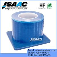 Quality Non-adhesive edges blue barrier film with dispenser for sale