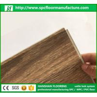 Wholesale 2017 Top Quality best price Fireproof spc Click flooring luxury vinyl plank floor with Floorscore from china suppliers