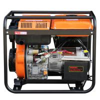 Wholesale Silent 5KW Small Portable Diesel Generator for household with AC Single Phase from china suppliers
