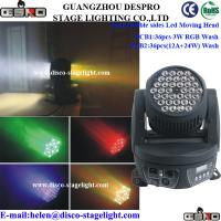 Wholesale Double Faced Moving Head Light Wash Nightclub Stage Effect Light from china suppliers