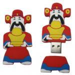 Wholesale cool promotional pvc cartoon USB flash memory drive 1GB 2GB 4GB 8GB 16GB 32GB from china suppliers