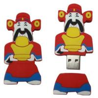 Wholesale cool promotional pvc cartoon USB flash memory drive 1GB 2GB 4GB 8GB 16GB 32GB from china suppliers
