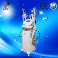 Buy cheap Double cryo handles cryolipolysis weight loss / cavitation rf slimming machine from wholesalers