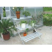 Wholesale 3 Layer Metal Staging / Greenhouse Shelf , Customized Aluminum Greenhouse Spares and Accessories from china suppliers